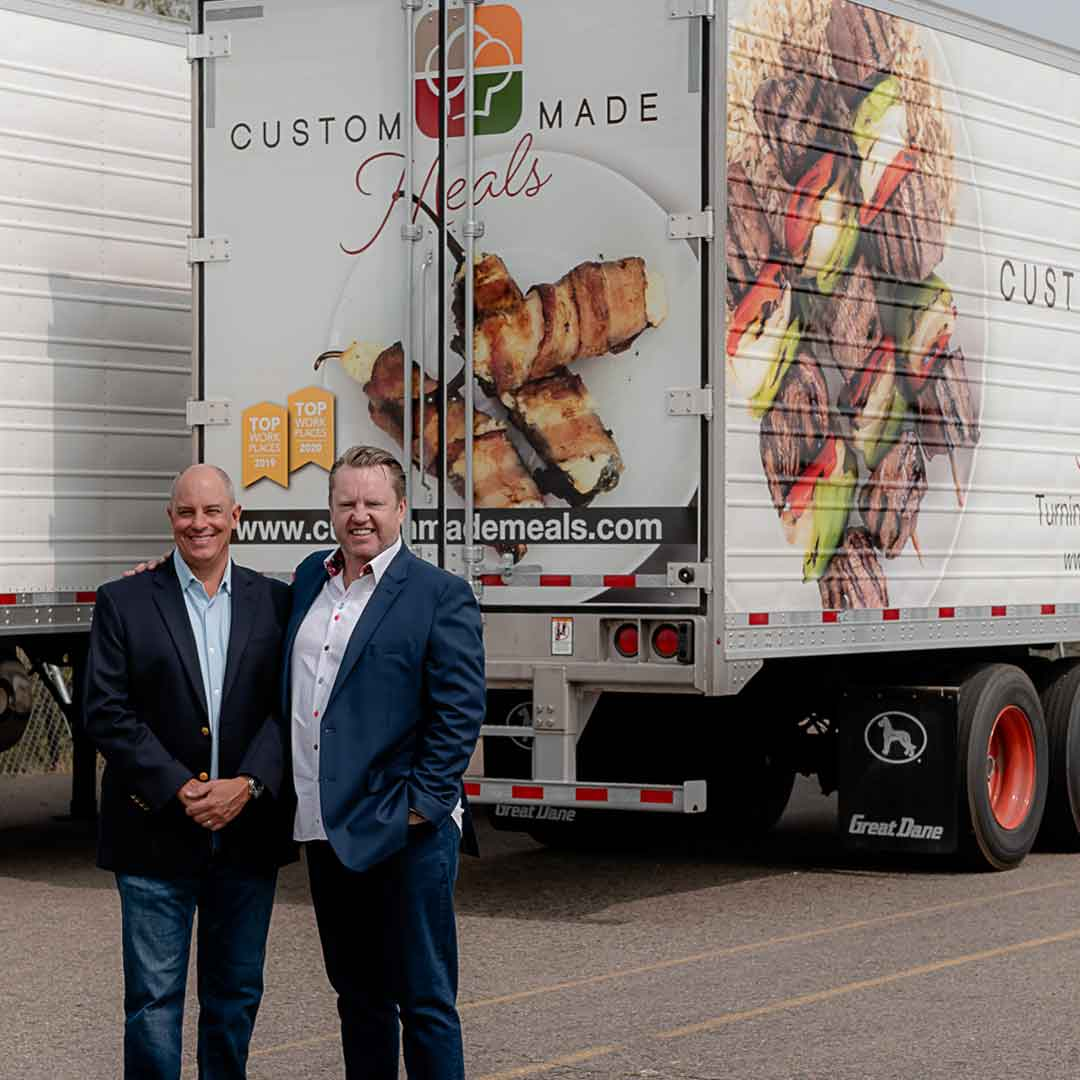 Custom-Made-Meals-Partnerships-Navajo-Express-Trucking-Dale-Easdon-Sean-Saunders